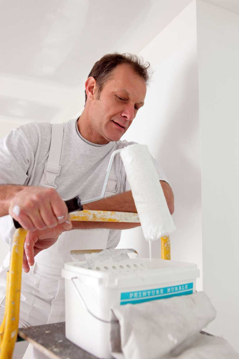 painting drywall